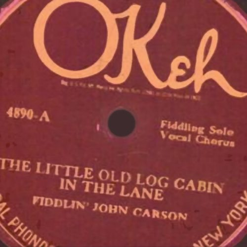 Almanack Feature: Fiddlin' John Carson & the Preservation of Old-Time Music