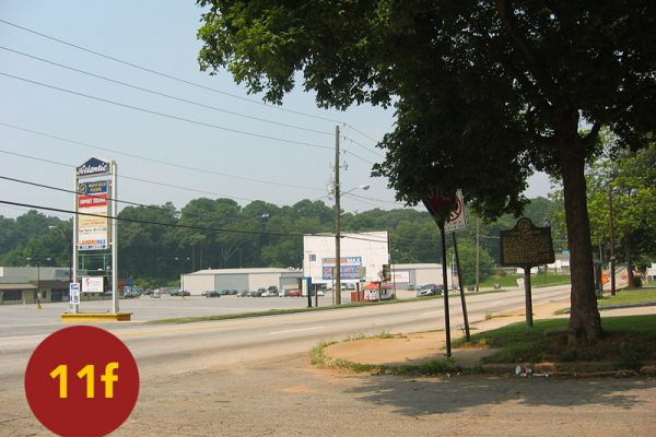 """STOP 11f: """"Mersy's Brigade / Advance of Mercer's (Walker's) Division (Dixie @ Memorial Drive)"""" [2004]"""