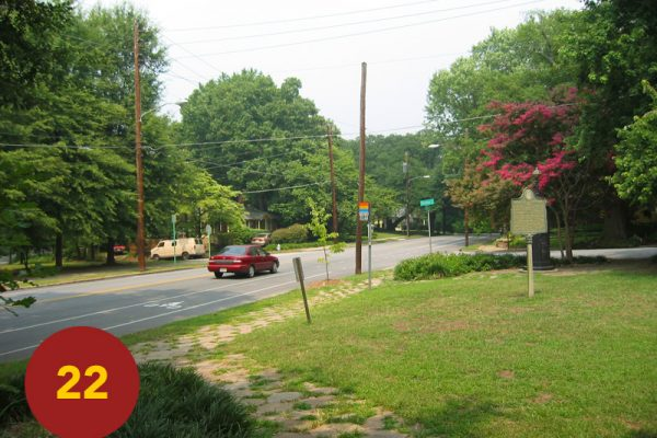 """STOP 22: """"Brown's and Clayton's Divisions Advance (Inman Park @ Delta Point)"""" [2004]"""