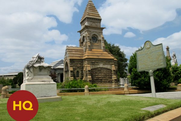 """HQ STOP: """"Hood's Headquarters Site (Oakland Cemetery)"""" [2013]"""