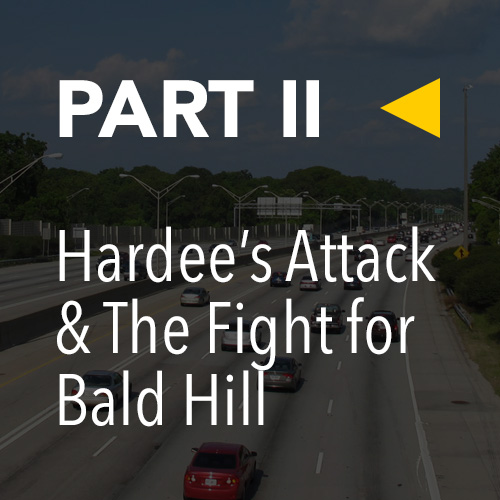 Battle of Atlanta, Today » Part 2: Hardee's Attack / The Fight for Bald Hill