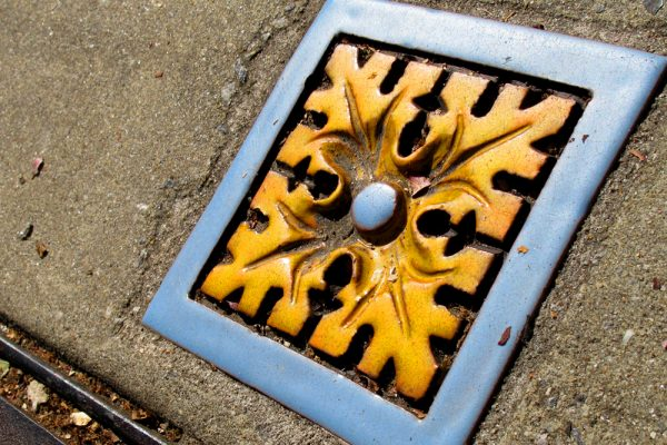 Asheville Architectural Details: Street Tile @ Patton / Lexington ©