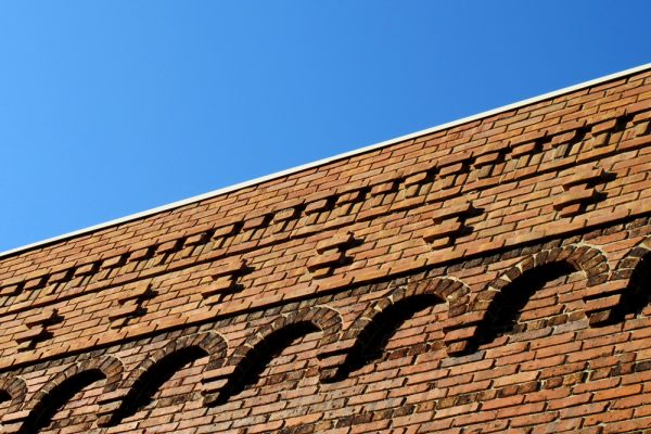 Asheville Architectural Details: Church Street Brickwork ©