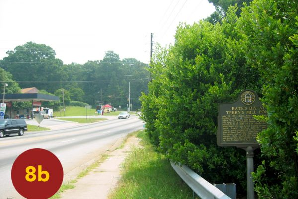 """STOP 8b: """"Bate's Division Assembly / Advance (Glenwood Avenue, Parkview Neighborhood)"""" [2004]"""