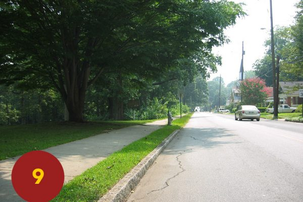 """STOP 9: """"Sweeny's Division Ordered to Left Flank (Candler Park)"""" [2004]"""