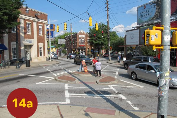 """STOP 14a: """"Smith's Division Line Ends / Cleburne's Advance (Glenwood / Flat Shoals Intersection)"""" [2012]"""
