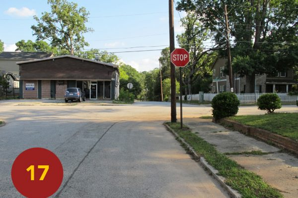 """STOP 17: """"Fuller's Right Engages Cleburne (north East Atlanta)"""" [2012]"""