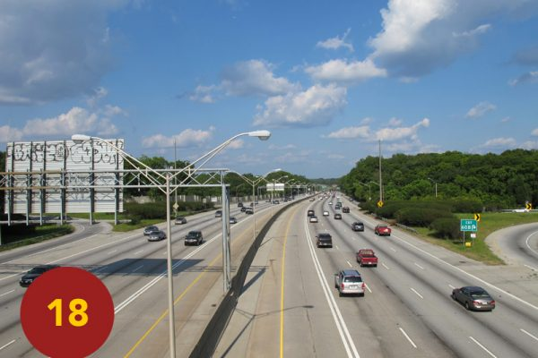 """STOP 18: """"Smith's Division Routed / Cleburne Attacks Bald Hill (I-20 Corridor)"""" [2012]"""