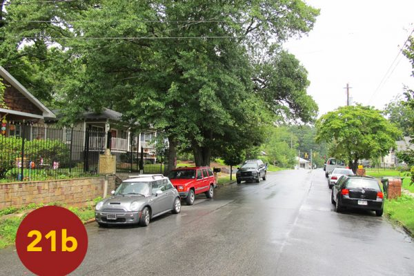 """STOP 21b: """"Initial Position of Harrow's Division (Reynoldstown)"""" [2012]"""