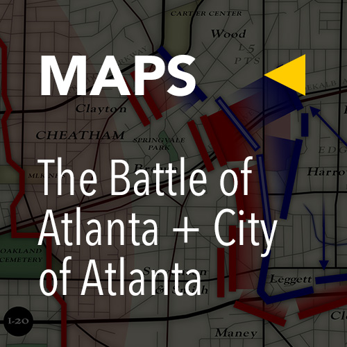 Battle of Atlanta, Today » Tour Maps