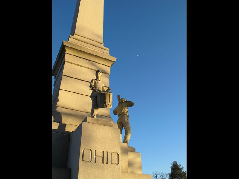 Battles for Chattanooga: [2014] Ohio Monument and a half-moon