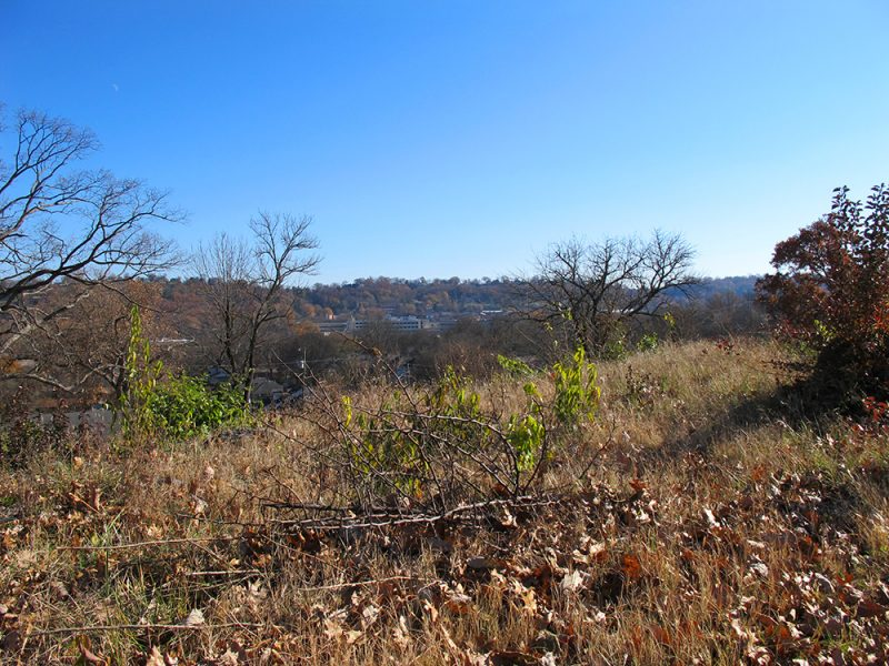 Battles for Chattanooga: [2014] Right of the Missionary Ridge line from Orchard Knob, assaulted by Sheridan's Division