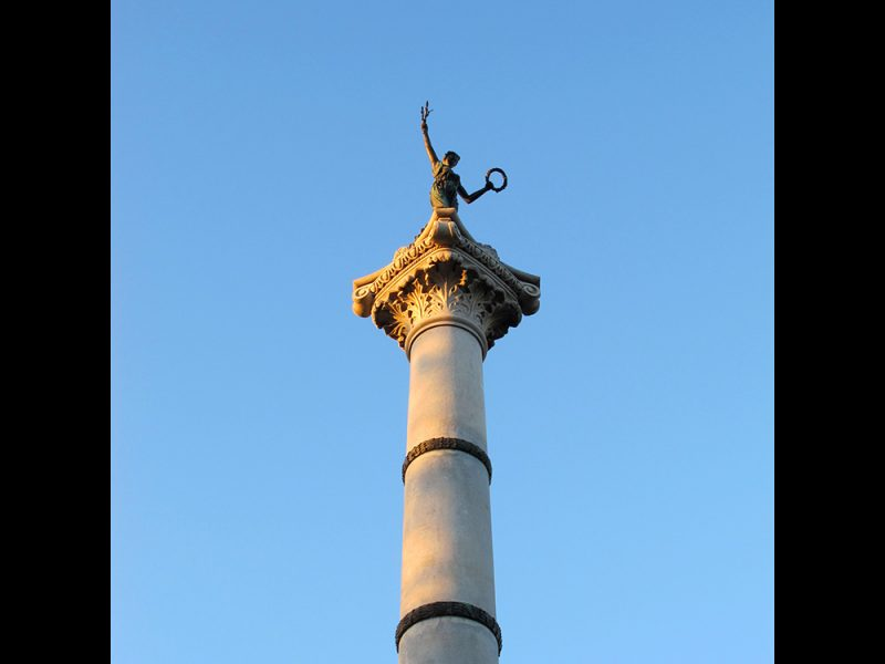 Battles for Chattanooga: [2015] The Illinois Monument at the Bragg Reservation