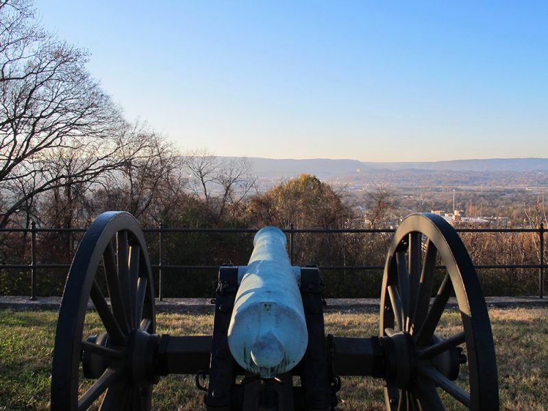 Battles for Chattanooga: [2015] The Turchin Reservation, where Turchin's Ohio brigade emerged and overwhelmed this stretch of the Confederate line atop the ridge