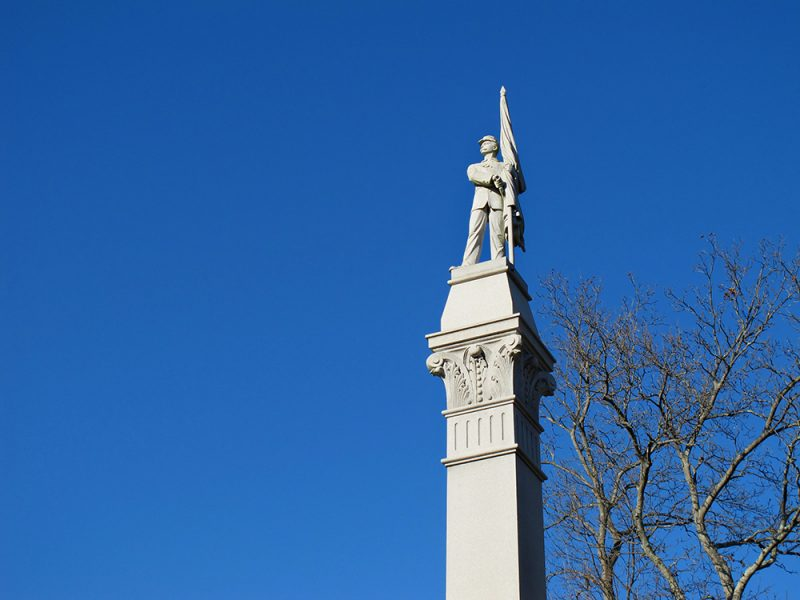 Battles for Chattanooga: [2014] The Iowa Monument on Tunnel Hill