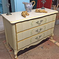 """Rescued Wares » When I picked """"Bessie"""" up off the roadside I never imagined all she needed was a good scrub and some solid carpentry. No paint needed! Now she is ready to serve again."""