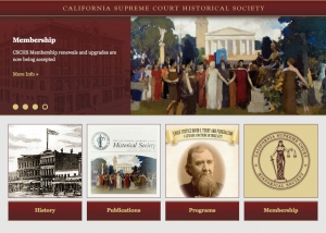 InHeritage Works: California Supreme Court Historical Society Website
