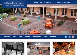InHeritage Works: Decatur House on Lafayette Square Website
